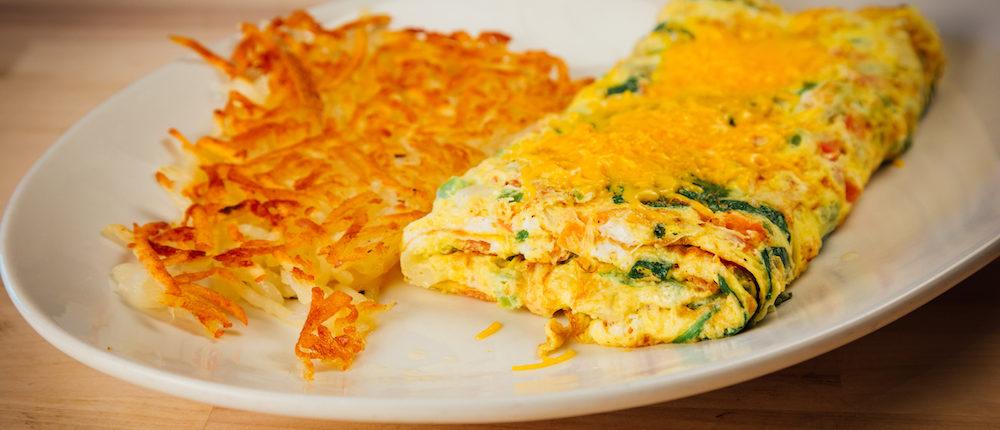 Uncle Linny's Restaurant Breakfast Omelet